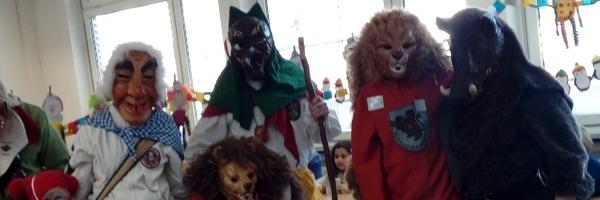 Maskenempfang in Neuhäuser Kindergärten 2020